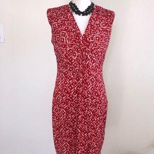 😍🌶Red print dress